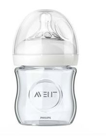 Avent - Natural Feeding Bottle Glass 120ml Single pack