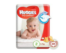 Huggies - Dry Comfort Size 2 22