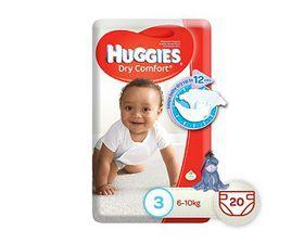 Huggies - Dry Comfort Size 3 20