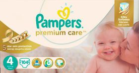Pampers - Premium Care Nappies - Mega Pack - Size 4