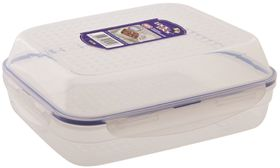 Lock and Lock Rectangular Season and Serve Container - 3.2 L