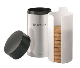 Brabantia - Biscuit Tube - Matt Steel