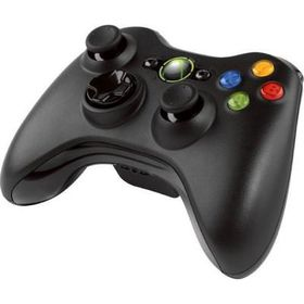 Official Xbox 360 Wireless Controller Black (Xbox 360)