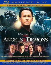 Angels & Demons (4K Mastered) - (Region A Import Blu-ray Disc)