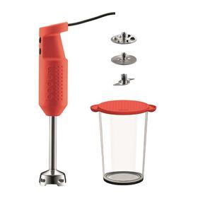 Bodum - Bistro Electric Blender Stick Set - Red