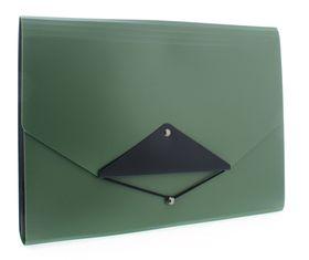 Donau Concertina File Metallic - Metallic Green