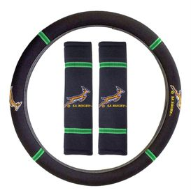 Stingray - Springbok Steering Wheel Cover and Seat Belt Cover