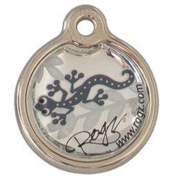 Rogz ID Tagz Small Metal Tag - Silver