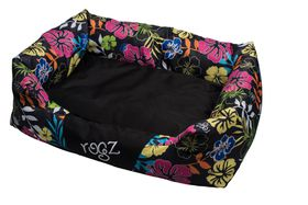 Rogz - Spice Pod Dog Bed - Dayglo Floral Design - Small
