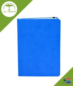 Eco Notebook Hard Cover A5 - Blue