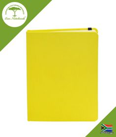 Eco Notebook Hard Cover A5 - Yellow