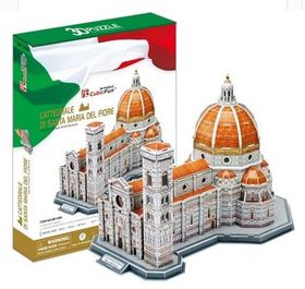 Cubic Fun Basilica of St. Mary of the Flower (Italy) 123pcs