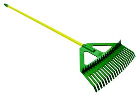 Lasher Tools - Combination Steel Handle Leaf Rake