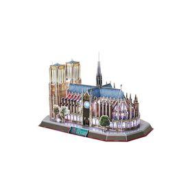 Cubic Fun Notre Dame Paris France with LED - 149 Piece 3D Puzzle