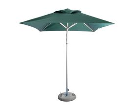 Cape Umbrellas - 2m Classic Line Mariner Square Umbrella - Dark Green