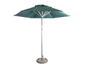 Cape Umbrellas - 2.6m Classic Line Mariner Hexagonal Umbrella - Dark Green