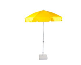 Cape Umbrellas - 2m Cafe Umbrella with Split Pole - Yellow