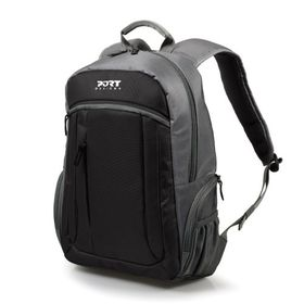 "Port Valmorel 15.6"" Laptop Backpack - Black"