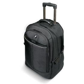 "Port Manhattan II 15.6"" Laptop Backpack Trolley Bag - Black"