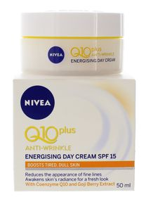 Nivea Visage Q10 Plus Energy Day Cream SPF15 - 50ml