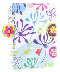 Donau Spiral Bound Notebook - A6 Floral
