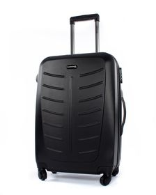 Paklite Stealth 61cm Spinner Hard Trolley Case - Black