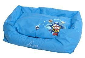 Rogz - Spice Pod (56cm x 35cm x 22cm) Small Cushion Bed - Comic Design