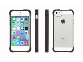 Griffin Survivor Clear Protective Cover for iPhone 5/5s - Black and Clear