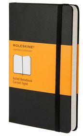 Moleskine Classic Black Pocket Ruled