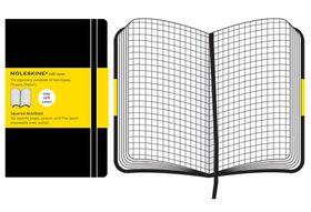 Moleskine Soft Black Large Squared Notebook