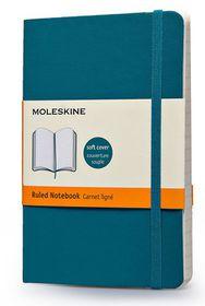 Moleskine Soft Blue Pocket Ruled Notebook