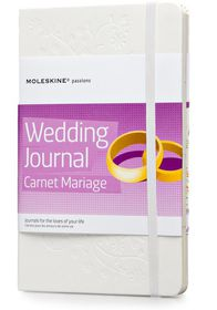 Moleskine Passion Wedding Journal Carnet Mariage