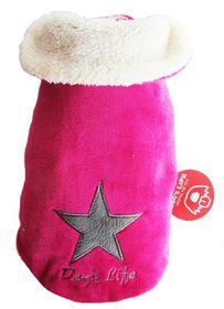 Dog's Life - Star Cape Jacket - Pink - 4 x Extra-Large