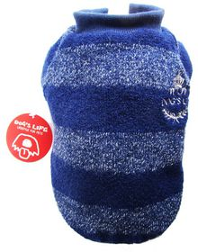 Dog's Life - Wool Jersey 2 - Navy - 5 x Extra-Large