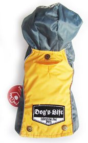 Dog's Life - Winter Rain Coat Yellow - Extra Small