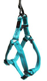 Dog's Life - Reflective Supersoft Webbing Harness Turquoise - Small