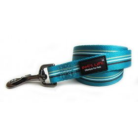 Dog's Life - Pooch Webbing Leash - Stripe - Medium