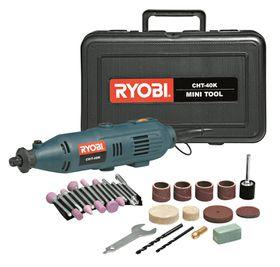 Ryobi - Mini Tool Kit 130 Watt With 42 Piece Accessory and Flexible Shaft
