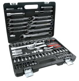 "Yato - 1/4"" and 1/2 Tool Set - 82 Piece"
