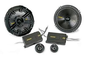 "Kicker - CS series 6.5"" Component System 4/20mm Tweeter pair 4Ohm - 160mm"