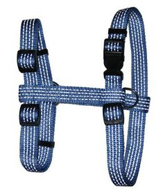 Pucci - Reflective Dog Harness - Blue - Small