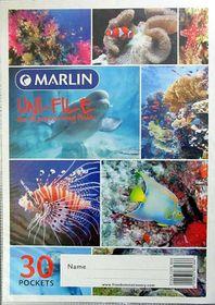 Marlin Uni-File A4 Soft Cover Display File - 30 Pocket