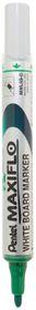 Pentel Maxiflo 4.0mm Bullet Tip Whiteboard Marker - Green
