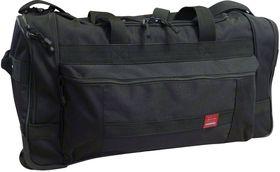 Cordura Wheel Bag - Black