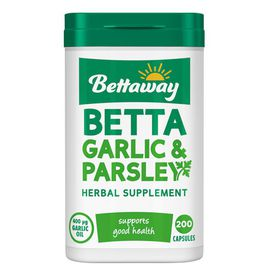 Bettaway Garlic And Parsley Capsules 200's