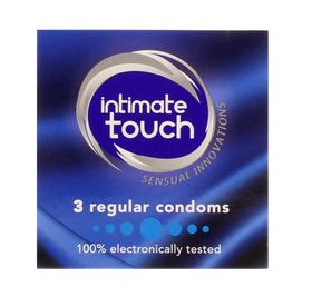 Intimate Touch Regular Condoms - 3's