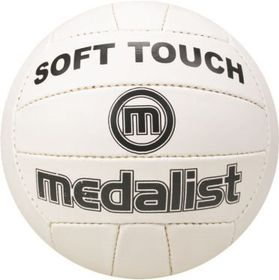 Medalist Soft Touch Volleyball - White