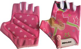 Surge Cycling Gloves Girls Pink 10