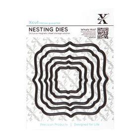 Xcut Nesting Dies - Square Parenthesis (5 Pieces)