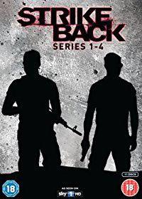 Strike Back - Series 1-4 Box Set (DVD)
